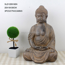 China factory wholesale unique Meditating Resin buddha handicraft