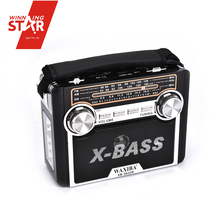 Cheap Radio X-Bass China Rechargeable Fm Pocket Radio Mp3 Player, Waterproof Radio Case With Flashlight