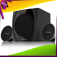 2.1 Laptop Computer Mobile Phone Woofer Classic Radio With Built-In Speakers