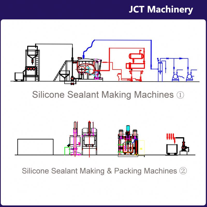 machine for making neutral silicone sealant red