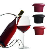 Silicone Wine Bottle Stopper Wine and Beer Bottle Cap