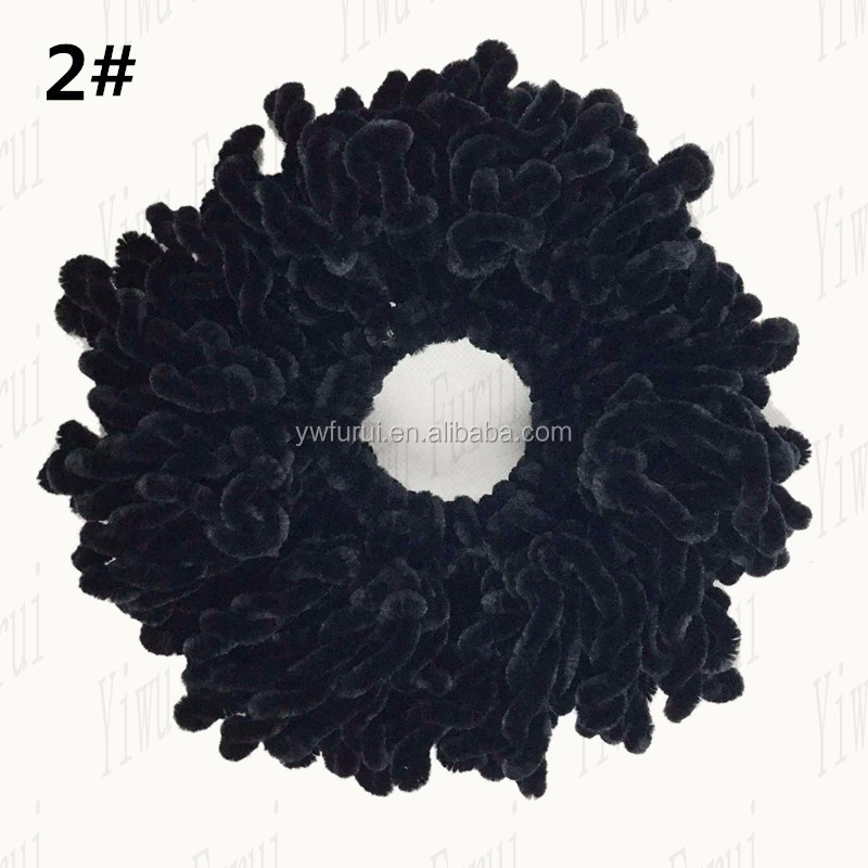 Fashion Newest Volumising Scrunchie Multi Color Muslim Women Volumizer Scrunchies Elastic Hair Ring Accessories Hijab Headwear