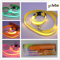 Mix 6 color and 4 size high quality led dog harness