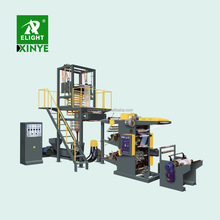 Plastic PE film Blowing Machine with Flexo Printing machine,Film-blowing and Offset press Unit