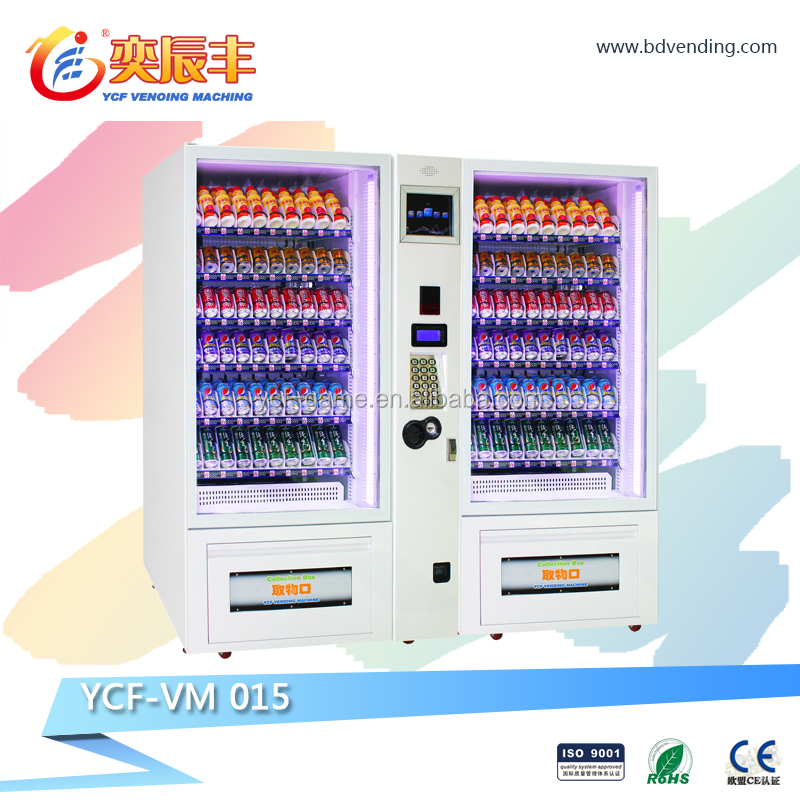 YCF-VM015 instant noodel vending machine snack can beverage condom fast food vending machine