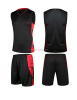 Men new pop plain basketball jersey set