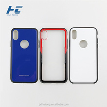 hot selling PC+TPU Phone Case For iPhone X, Full Cover Hands glass for iphone X Back screen