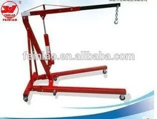 Heavy Duty 2 Ton Foldable Shop Crane/Small Shop Crane