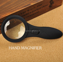 Factory sell 6pcs LED light handheld magnifying glass