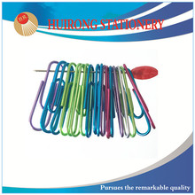 33mm colorful office suppliers paper fastener clip with high quality