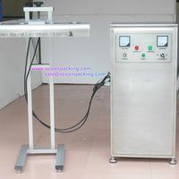 New latest automatic cosmetic tube sealing machine