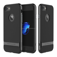 Original ROCK Royce Series Ultra Slim TPU+PC Back Case Armor Cover For iPhone 7/7 Plus(Without Holder) PR-130