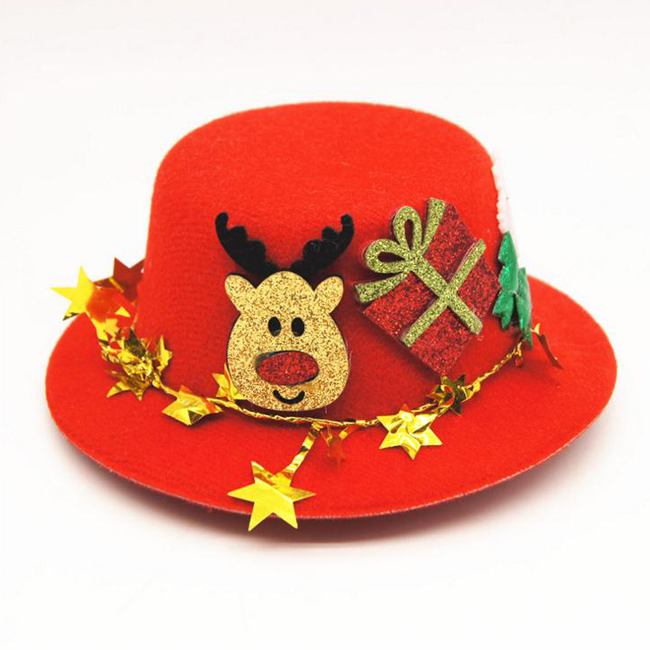 Festive Pets Christmas Celebrate Headwears Accessories Cats Dogs Carnival Lovely Hats
