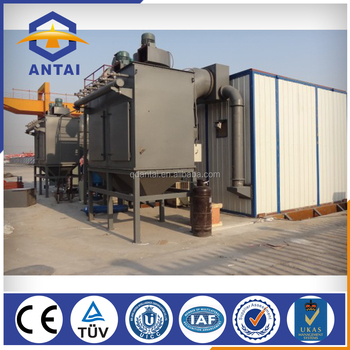 manual sand blasting booth/wheel blasting room