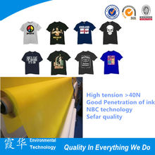 Higher tension and breaking point 33 mesh PET screen printing mesh/bolting cloth