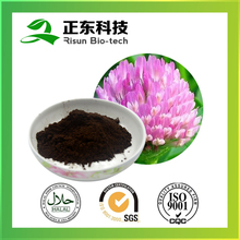 All Herb Part Used Red Clover Extract 8% Isoflavone Dark Brown Fine Powder