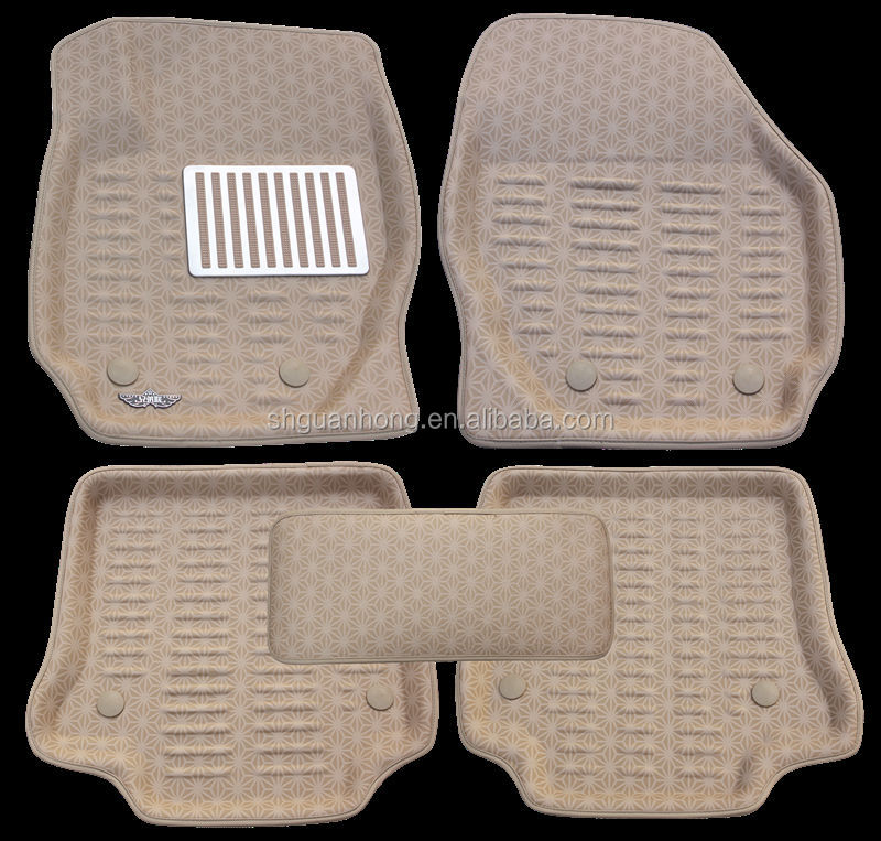 3D I&II series customized car mats with Dotted Cloth