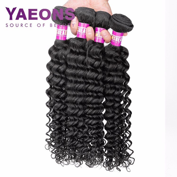 100% virgin remy natural curly short wet and wavy hair weaves for black women