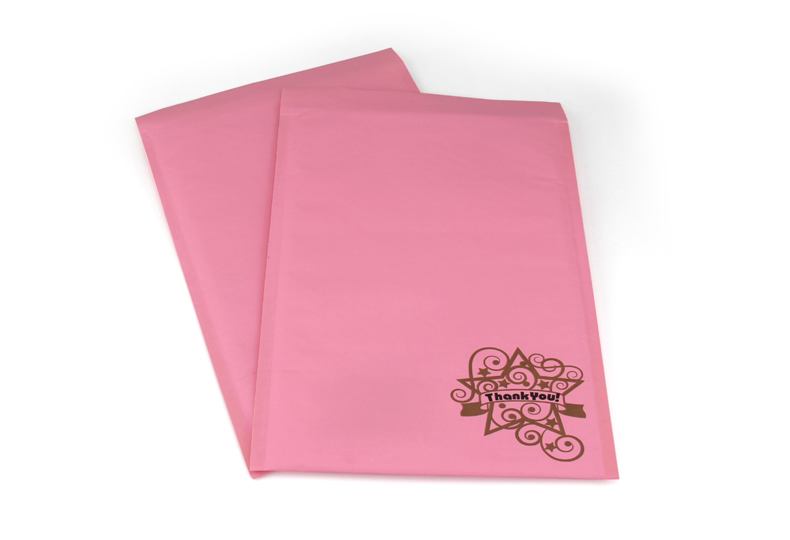 four color heavy brown golden kraft padded envelopes bubble mailers bag
