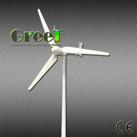 POP! low RPM wind power generator 3kw, wind energy system for electricity,1m/s start wind speed