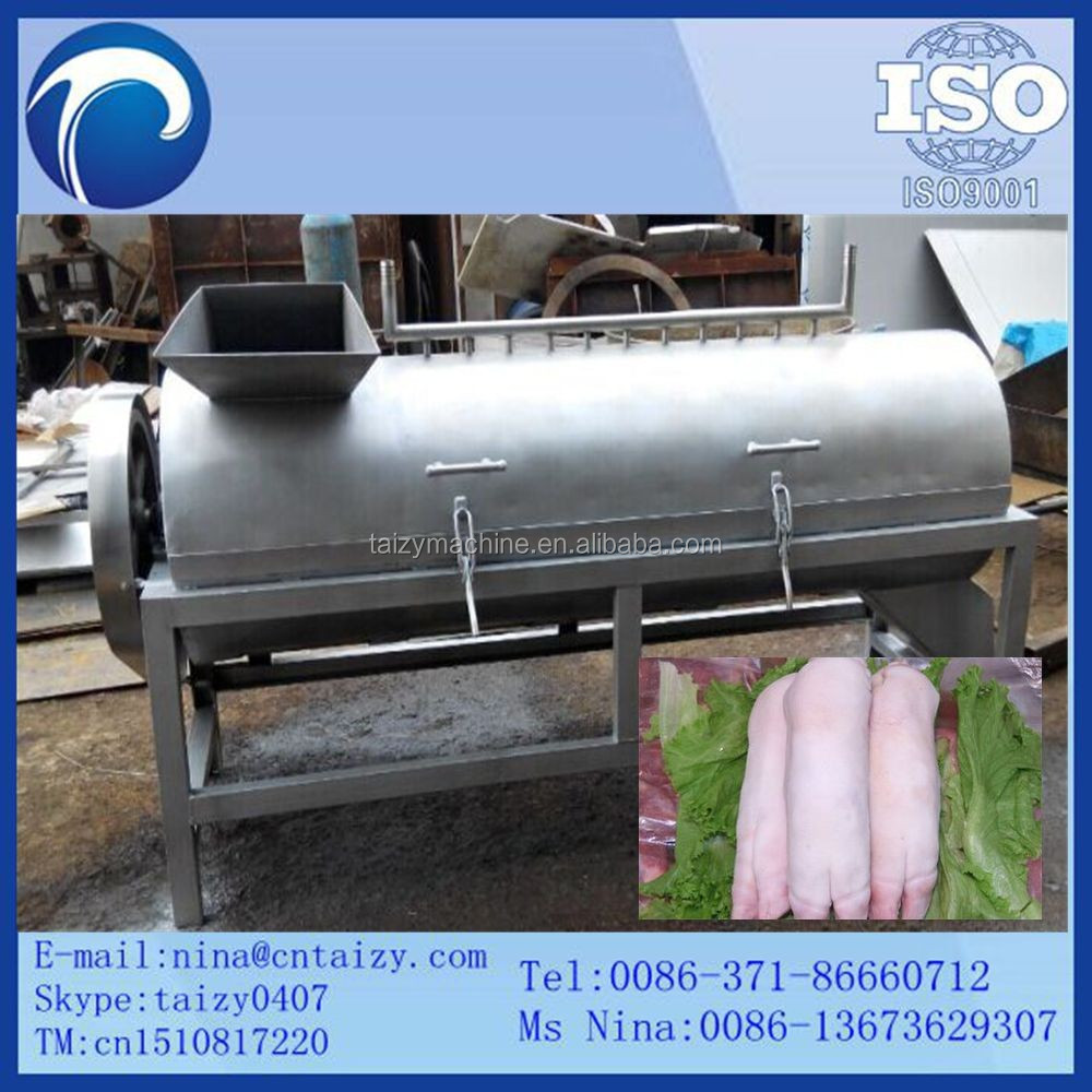 sheep skinning machine hair remover hair removal