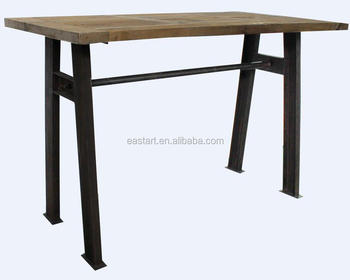 Recycle furniture wooden dining table
