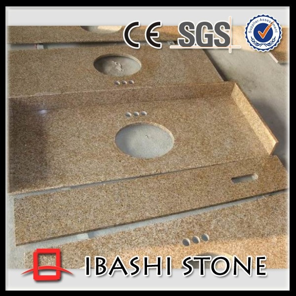 Chinese yellow granite countertop for sale