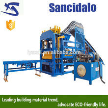 Factory Supplier QT4-15S large hollow block making machineautomatic wood pallet brick machine with low price
