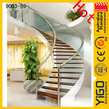 outdoor stair steps lowes\curved staircase with wood handrail