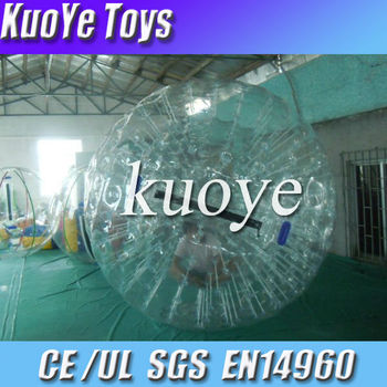 dia 2.6m 0.9mm pvc material zorb ball,Germany TI ZIP zorb ball for sale,commercial water zorb ball