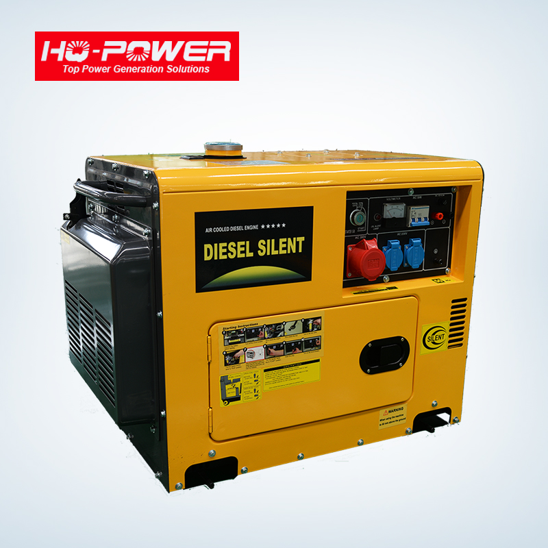 China huaquan 5kw 6.5kva electricity diesel generator for home use