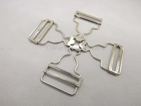factory direct sale promotion metal silver buckles