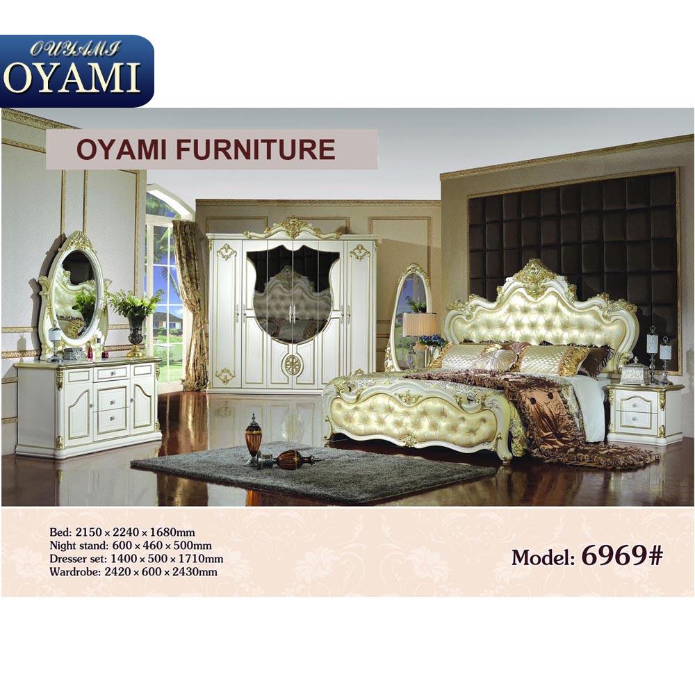 Euro estilo italiano importado muebles de dormitorio for Muebles estilo italiano