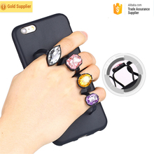 Bulk buy from china latest 5g mobile phone finger ring grip silicon diamond case for iPhone 7 for iPhone 7 plus exclusive case