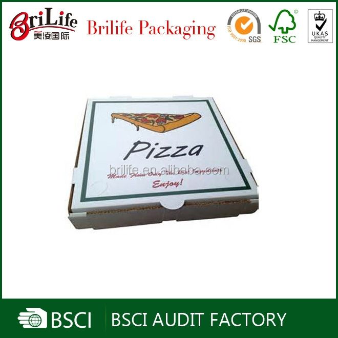 Wholesale Food Grade Handmade carton pizza box