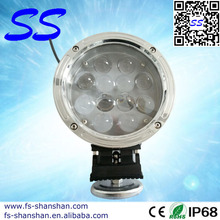 7INCH 60W CREE LED DRIVING WORK LIGHTS SPOT FLOOD OFFROAD REPLACE HID BAR BL 4X4 Vehicle ,Truck, Jeep,Boat,Adjustable,SS-1001