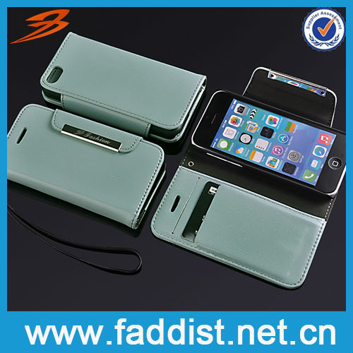 High Quality PU Leather Bling Case Spare Part for iphone 5c