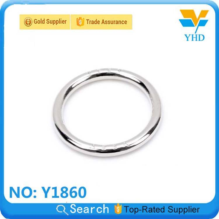 wholesale round wire metal snap o ring for bags