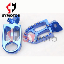 dirt bike parts CNC alloy footpeg pit dirt bike spare parts