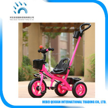 High Quality Safety Kids Push Trike Cheap Children Tricycle for Baby