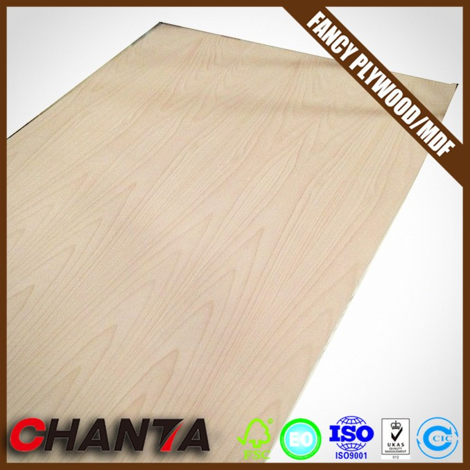 mdf core fancy board melamine paper faced plywood