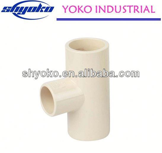 2014 China high quality CPVC pipe fittings Plastic Tubes irrigation saddle