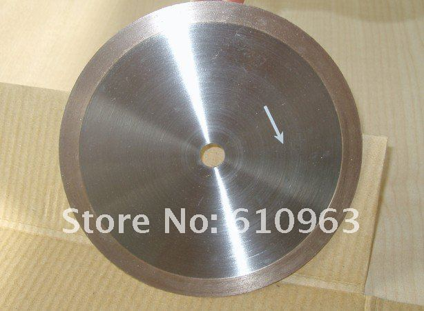 continuous rim diamond saw blade for cutting glass lapidary gem