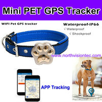 400mAh battery pet gps tracker with history-trace checking trace your dog/car/sheep/cow