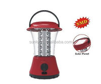 camping dimmable 36 led solar rechargeable led lantern