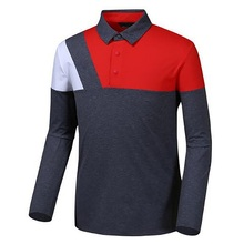 Printing Logo Sportswear <strong>Men's</strong> Long Sleeve T-Shirt Golf <strong>Apparel</strong>
