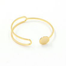 SZ0059 JN gold plated fashion jewellery bf bangle women adjustable wire bangle bracelet wholesale