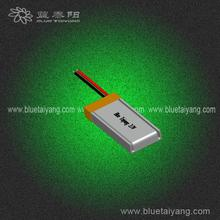 3.7v lipo 130mah polymer rechargeable battery