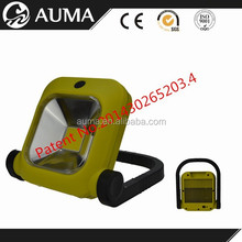Portable flood light led work light rechargeable hand lamp