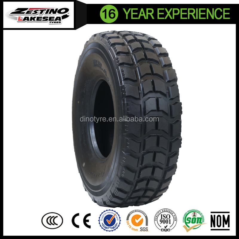 bullet proof military truck tire 37x12.5R16.5, 36x12.5R16.5,1400r20, 395/85r20 for off road